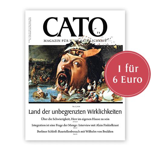 Ausgabe 1/2017 oder 1/2018 zum Einführungspreis von sechs Euro