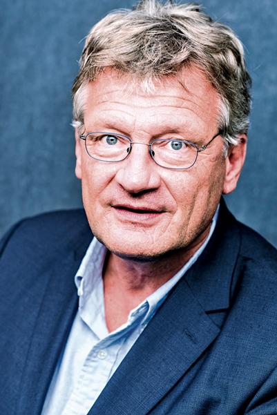 Jörg Meuthen, geb. 1961 in Essen, hat eine ruhende Professur für Volkswirtschaftslehre und Finanzwissenschaft in Kehl inne. Er ist stellvertretender Fraktionsvorsitzender der EFDD im Europäischen Parlament und einer von zwei Bundessprechern der AfD.